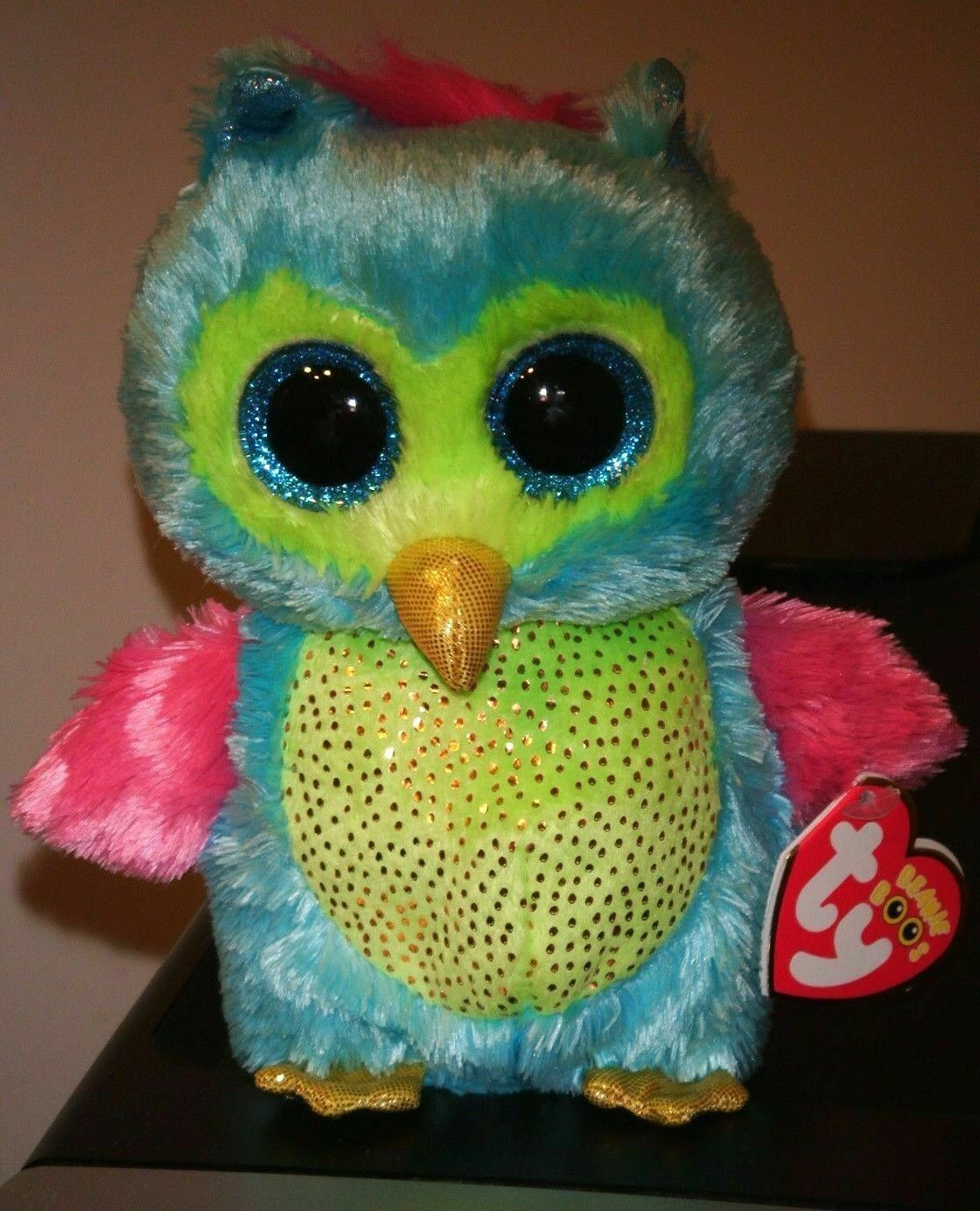 NEW MWMT Ty Beanie Boos ~ OPAL the Owl Justice Exclusive 6 Inch