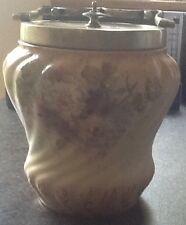 S F Fielding (Crown Devon) Antique Biscuit Barrel