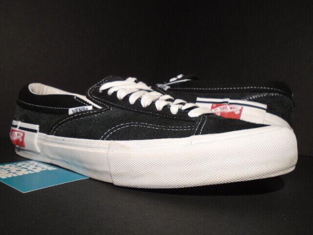 vans slip on cap lx black