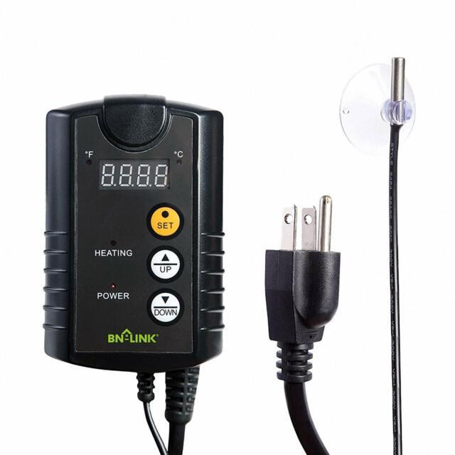 Jump Start MTPRTC Digital Controller Thermostat For Heat Mats Seed Germination,