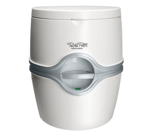 Originelle Thetford Reisetoilette 565E Porta Potti Excellence elektrische Pumpe