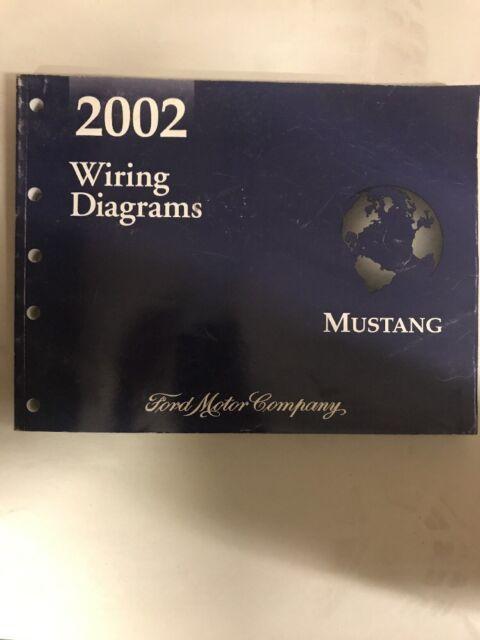 2002 Oem Ford Service Manual  Wiring Diagram  Mustang