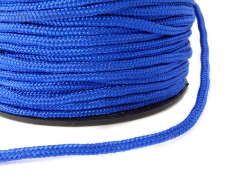Paracord Flechtschnur von EFCO 2mm in blau 1 Meter