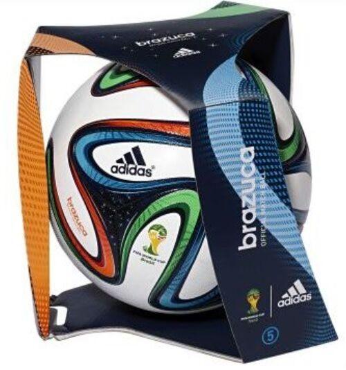 Matchball Adidas Brazuca 2014  Deutschland Fußball
