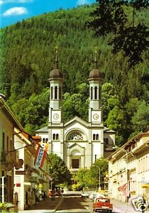 Dynamisch Ak Um 1985 Straßenpartie Mit Kirche Todtnau Schwarzwald
