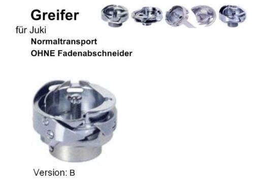 Greifer für JUKI Nähmaschinen OHNE Fadenabschneider, Version B