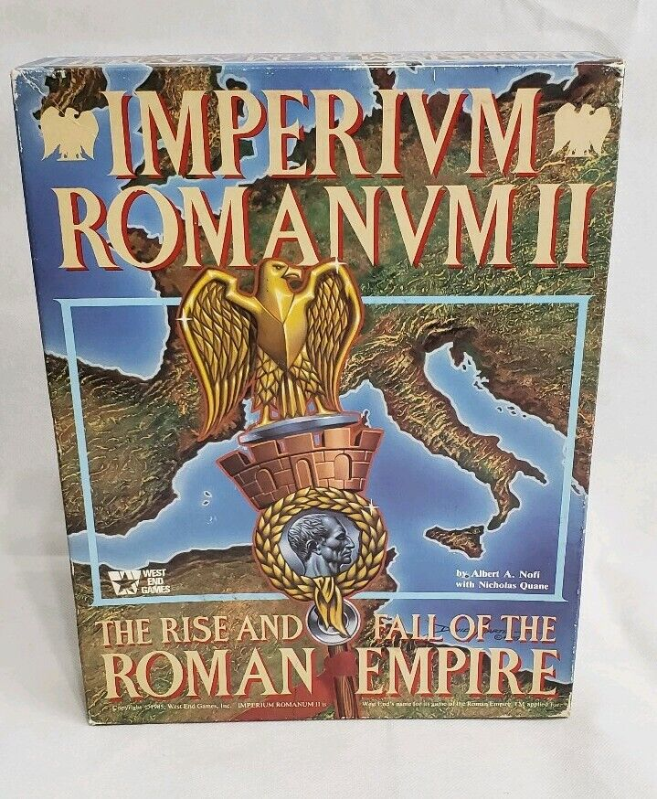 Imperivm Romanvm II Rise And Fall Of The Roman Empire Game - West End Games