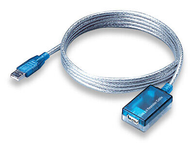 ALFA 5m 16 feet USB Active Repeater Extension Cable for AWUS036H buffers power