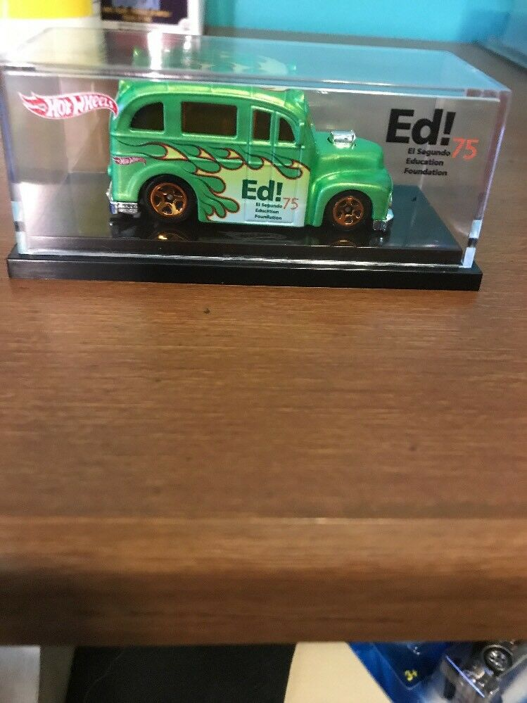 Hot Wheels 2011 Ed  El Segundo Education Foundation School Busted Limited