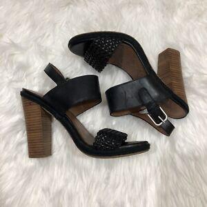 Lucky-Brand-Womens-Chunky-Heel-Sandal-Size-10