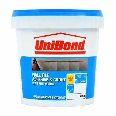 Unibond Wall Tile Adhesive Amp Grout With Anti Mould 1 38kg