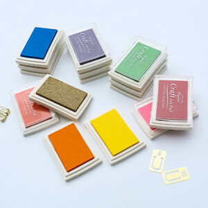 15-Colours-Craft-Ink-Pad-For-Rubber-Stamps-Pads-DIY-Printing-Wood-Fabric-Paper