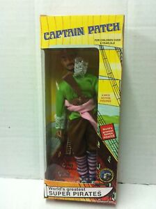 Mego-Repro-Greatest-Super-Pirates-CAPITAN-PATCH-Action-Figure-20-cm-MIB-2005