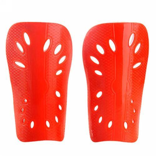 2pcs Soft Light Football Shin Pads Soccer Guards Sports Leg Protector Kids Adult