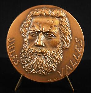 Medal-Jules-Valles-Pressman-Num-33-100-Latest-Copies-Cri-of-Pauple-the-Common
