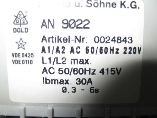 Dold Motorbremsgerät AN 9022 30A