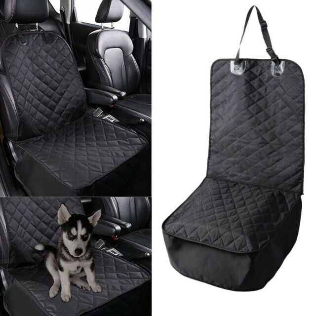 Universal Waterproof Pet Front Seat Cover Dog Car Seat ...