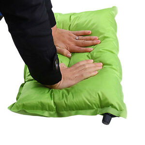 Automatic-Inflatable-Air-Cushion-Pillow-Portable-Outdoor-Travel-Camping-FE
