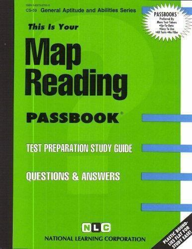 National Learning Corporation-Map Reading BOOK NEW