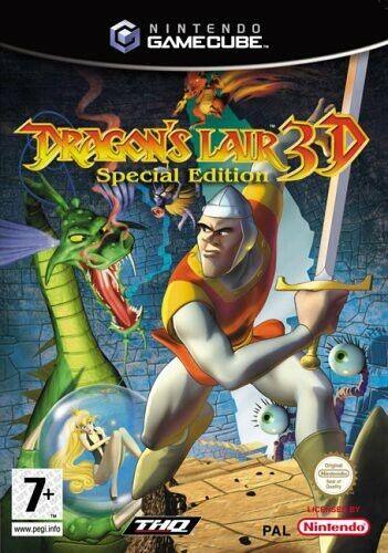 Nintendo GameCube - Dragon's Lair 3D #Special Edition dans l'emballage utilisé