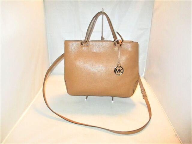 100289822ef0 Michael Kors Anabelle Large Leather Top Zip Tote, Shoulder Bag, Satchel $368