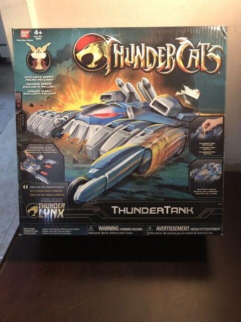 Bandai Thundercats Thundertank Deluxe Vehicle With Snarf Action Figure