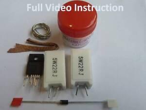 Eay60968801-eax61392501-per-LG-50pj550-PLASMA-POWER-FAULT-Kit-di-riparazione