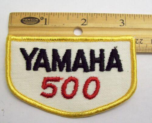 YAMAHA 500 PATCH SC SR TT TX WR XS XT ATV YFM AHRMA NOS
