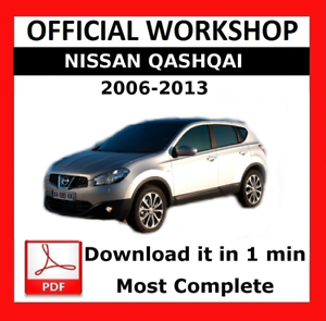 official workshop manual service repair nissan qashqai 2006 2013 rh ebay co uk nissan dualis 2013 user manual nissan qashqai 2 2013 user manual pdf
