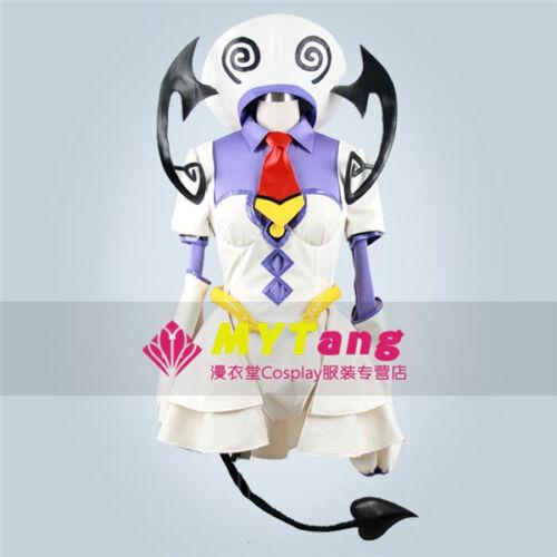 To Love-Ru Lala Satalin Deviluke Cosplay Costum White Fighting Full Set