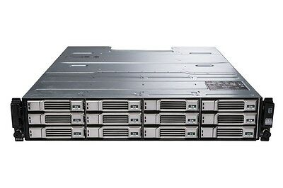 "Dell Equallogic Ps4100e 2u 12 X 2 Tb Sas 7.2k 6 Gb/s 3.5"" San Iscsi Array 24 Tb-"