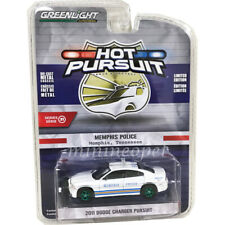 2011 Dodge Charger POLICE Memphis Tennessee *** Greenlight Hot Pursuit 1:64 OVP