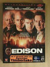 DVD / EDISON / JUSTIN TIMBERLAKE / NEUF SOUS CELLO
