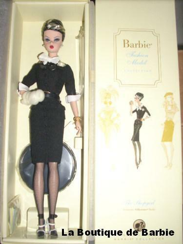 THE SHOPGIRL BARBIE DOLL, THE BARBIE FASHION MODEL COLLECTION, M4971, 2008, NRFB