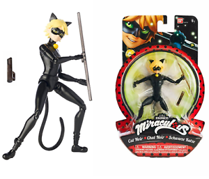 Miraculous-Ladybug-Figure-Doll-CAT-NOIR-5-5-034-14cm-39722-Bandai-Free-Shipping