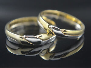 Image Is Loading Wedding Band Rings Knot Braided Interlace Ring 14k