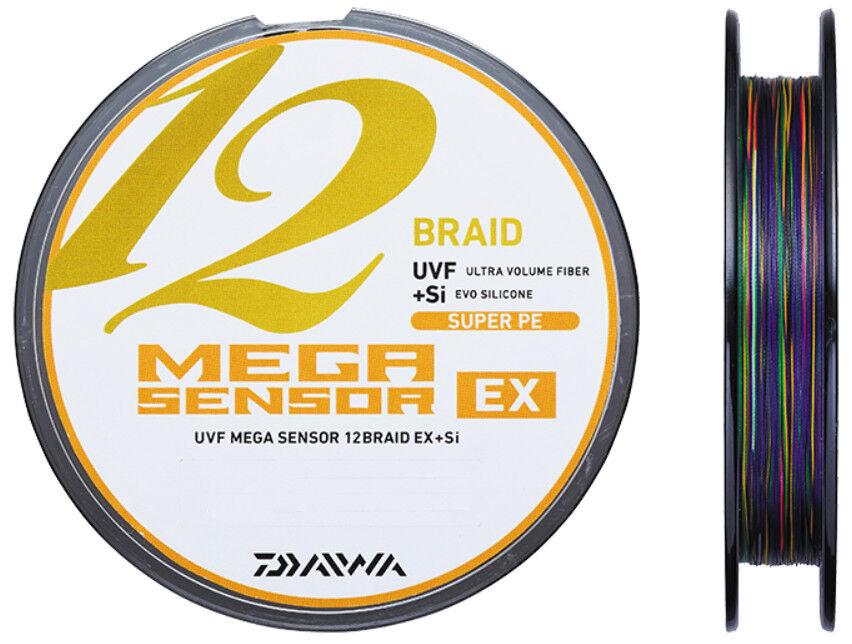 Daiwa UVF MEGA SENSOR 12 BRAID EX +Si PE  4 (30.7kg)-1200m Braided Line