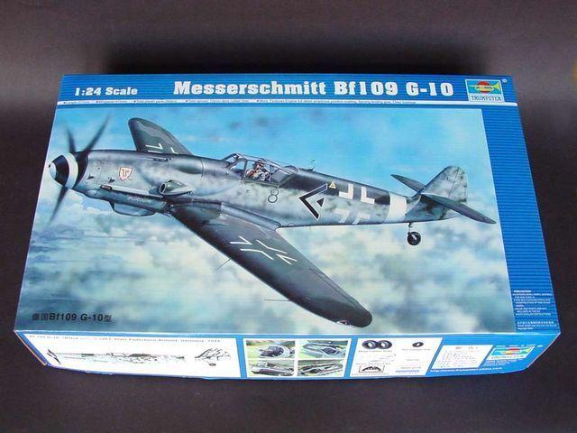 Trumpeter 1 24 02409 Messerschmitt Bf109 G-10