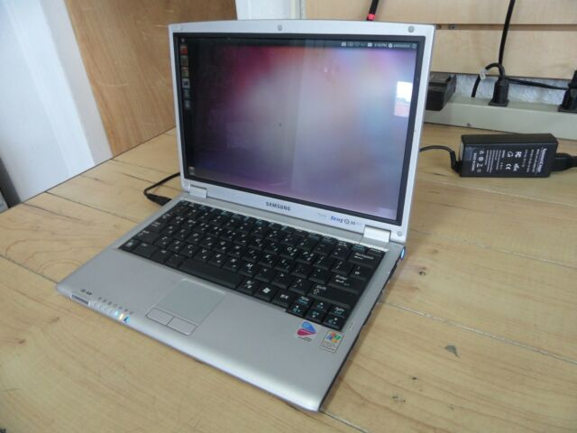 Samsung Sens Nt-q30 Laptop for Parts Booted Linux Hard Drive Wiped *