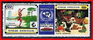 CENTRAL-AFRICA-STAMP-SHOW-MNH-COSTUMES-FOOD