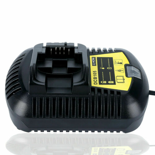 Replace For Dewalt 6.0Ah20V Max XR Li-ion DCB206 DCB205 Battery or DCB105Charger