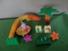 Lego Duplo Dora Playground Merry Go Round TREE FLOWERS Parts Lot