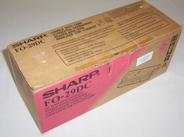 Sharp genuine FO-29DC black toner cartridge