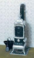 Dollhouse Miniature Parlor Stove Kit Cb2109
