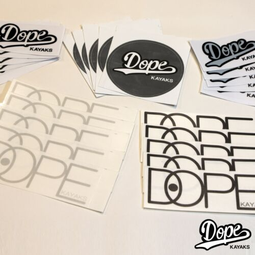 DOPE Kayaks Sticker Pack