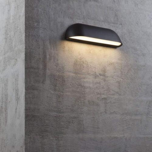 Nordlux DEL Lampe Murale Front 26 Extérieur Lampe 8 w 3000k 650 lm ip44 Noir Mur
