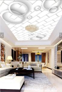 3D Circle Adorn 48 Ceiling WallPaper Murals Wall Print Decal AJ WALLPAPER US