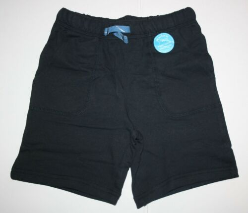 NEW Carter/'s Boys 3T 4T 5T Black Terry Shorts Soft Knit Lounge Wear Summer