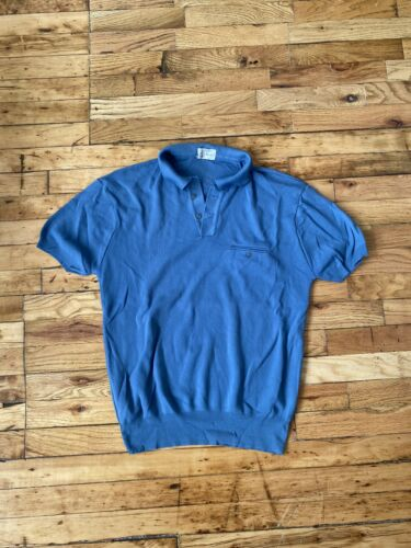 1950's/1960's Vintage Men's Towncraft Polo Sweater