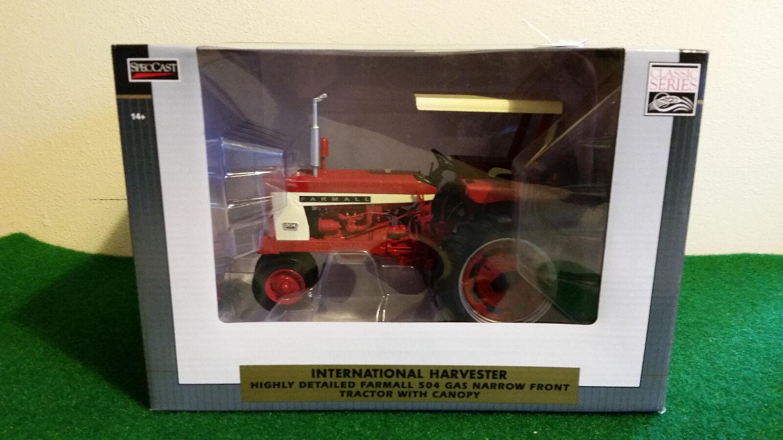 116 International Farmtutti 504 Gas Trattore... BELLO